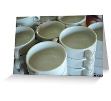coffe cup Greeting Card
