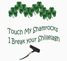 Shamrocks and Shillelagh by greg fitzgerald