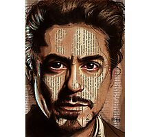 Robert Downey jr Photographic Print
