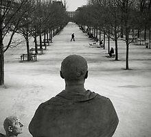 Jardin des Tuileries, Paris by Laurent Hunziker
