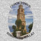 Halki Clock Tower by Tom Gomez