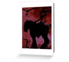 BLACKENER Greeting Card