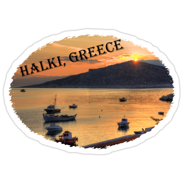 Halki Sunrise (version 2) by Tom Gomez
