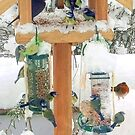 Christmas bird table 2 by missmoneypenny