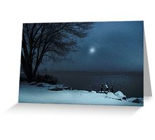 Moonlight Romp Greeting Card