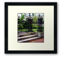 The Armstrong House Framed Print