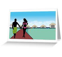 Maldivian Paradise Greeting Card