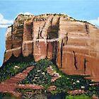 Sedona Rocks 1 by Heberto   G. Cavazoz