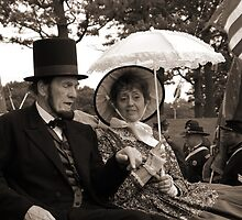 Mr. and Mrs. Lincoln by James Formo