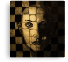 My checkered past. Canvas Print