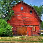 Old Barns by Monte Morton