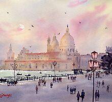 Santa Maria della Salute, Venice by Joe Cartwright
