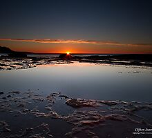Sunrise at Coalcliff by Tranclan5