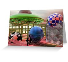 Discovering the Blue Planet Greeting Card