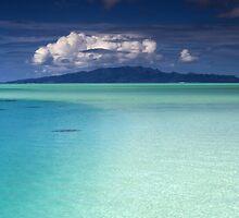 Bora Bora Lagoon by Kim Roper