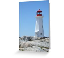 Peggy's Point Lighthouse, Peggy's Cove Greeting Card
