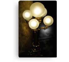 Capitol Lamps Canvas Print