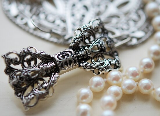 Vintage Beads II by Claire Elford