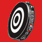 Tambourine Target by Phillip J. Mellen