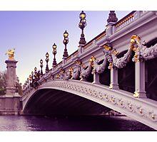 Pont Alexandre III Photographic Print