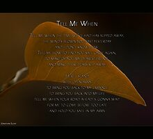 Tell Me When by The Jonathan Sloat