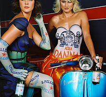 Vespa Body art by GASOLINE DESIGN