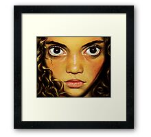Little Grea Framed Print