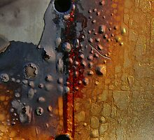 Enamelling on Burnt ( 1 ) by cullodenmist