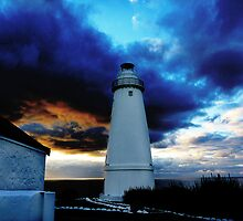 Cape Willoughby Lighthouse by Harvey Schiller