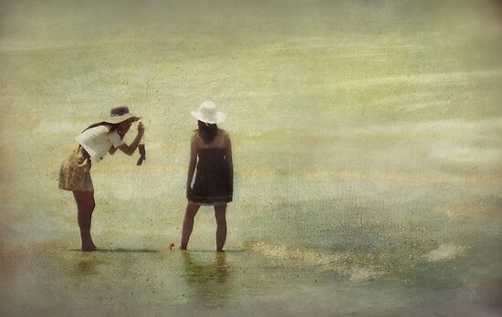 A Day at the Beach by Trish Woodford
