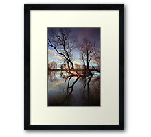 """The Tree's"" Framed Print"