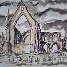 Ruined Priory I by Martin Williamson (©cobbybrook)