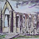Ruined Priory II by Martin Williamson (©cobbybrook)