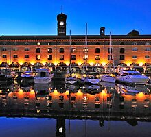 St Catherines Dock London by mike1242