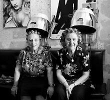 At the hairdresser (2) by Ellen van Deelen