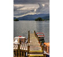 Motorboats for hire Photographic Print