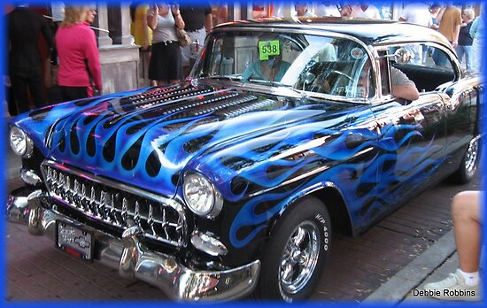 55 Chevy by Debbie Robbins