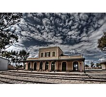 Tel Aviv, The Old Railway Station: the haunted station house Photographic Print