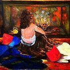 Sitting By The Fireside by allwyn