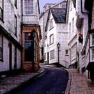 A Dartmouth Backstreet by Andrew  Bailey