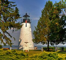 Lighthouse at Concord Point by Monte Morton