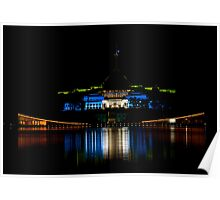 Australian Parliament Houses Poster