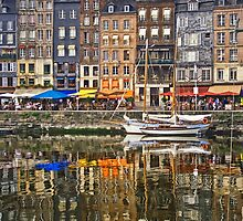 Honfleur, France by Ann Garrett