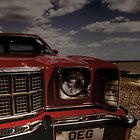 Old American Car (HDR) - Felixstowe Prom by GordonCox