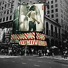 Levis ad in Times Square by badkarma