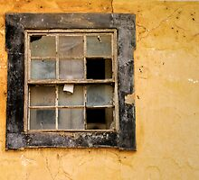 Old Sash Window, Silves by julieelucas