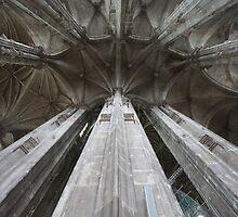 St. Eustache, Paris by Gothman
