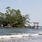 Shrine Island, Noto Peninsula, Japan by johnrf
