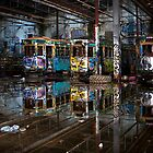 Tram Sheds 1 by Bill Atherton