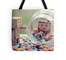 caught in a cookie (sweets) jar... Tote Bag